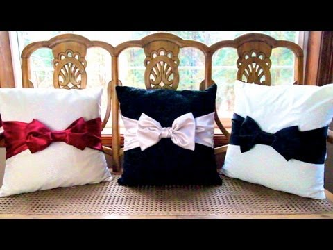 DIY Bow Pillows! ❄ Christmas Countdown