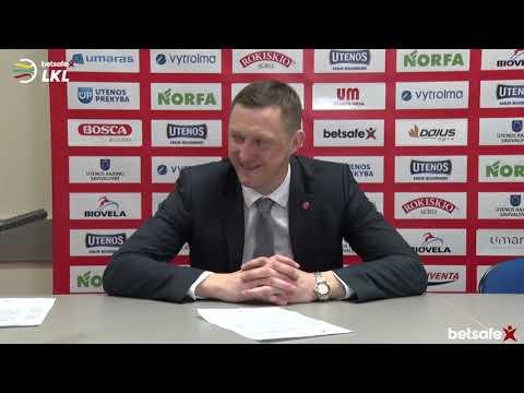 """""""Betsafe–LKL"""" rungtynių komentarai: """"Juventus"""" - """"Žalgiris"""" [2019-01-27]"""
