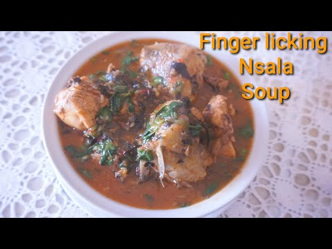 Cook With Me Delicious Omugwu Soup |Nsala/White Soup