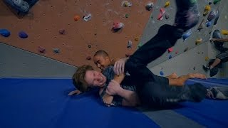The Kid Crusher Is Back ! by Eric Karlsson Bouldering