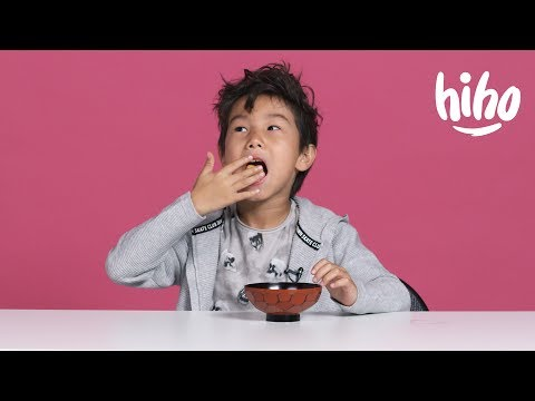 American Kids Try Snacks From Singapore and