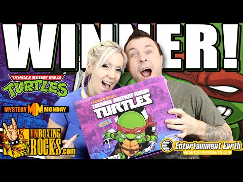 WINNER ANNOUNCEMENT: Teenage Mutant Ninja Turtles (Full Case of The Loyal Subjects Action Vinyls)