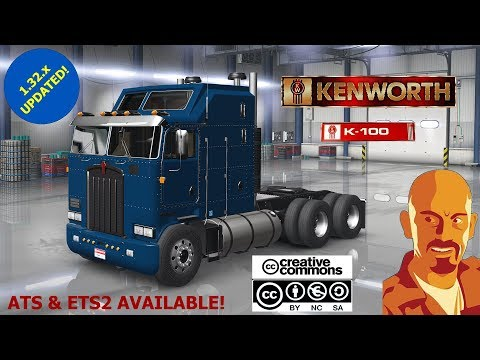 KENWORTH K100 ATS 1.32.x