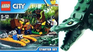 "https://youtu.be/8Dth1yYOtjE - LEGO City Jungle Explorers Jungle Starter Set 60157 - LEGO Crocodile with boat - Buried Treasure In this video we build the LEGO City Jungle Explorers Jungle Starter Set 60157 which includes  Hydrofoil boat, Tree and crocodile for cruising up the river.LEGO City Jungle Explorers Jungle Starter Set 60157Product Description - Cruise into the jungle and make a big discovery!Cruise the river of the LEGO City jungle and find amazing things, featuring a boat, tree with hidden treasure, three minifigures and snake, frog and crocodile figures.Discover what lurks on the banks of the river in the LEGO City jungle with the Jungle Starter Set, featuring a boat with space for gear and three minifigures, a tree with hidden treasure, camera and a working magnifying glass. Includes three minifigures, plus snake, frog and crocodile figures.Includes three minifigures: a jungle explorer, scientist and a boat pilot, plus crocodile, snake and frog figures. Features a boat with space for three minifigures and exploration gear. Also includes a tree with opening door and space for hidden treasure elements. Study the colorful frog more closely with the working magnifying glass. Open the door in the tree and discover the hidden treasure! Accessory elements include three gold-colored coins, box, camera, magnifying glass anda machete. Boat measures over 1"" (3cm) high, 3"" (8cm) long and 1"" (4cm) wide. Tree measures over 2"" (7cm) high, 2"" (6cm) wide and 2"" (7cm) deep. Crocodile figure measures over 4"" (11cm) long.Stop motion construction of Lego Other Great Videoshttps://youtu.be/elt6USvT7TU Lego City Sailboat Rescue Great White Shark 60168 - Lego Coast Guard crew sailor - Lego Speed Buildhttps://youtu.be/vlOmYT-neU8 Lego City Van and Caravan 60117 - Lego Camper van Dog camper minifigures- Lego City Speed Buildhttps://youtu.be/1c1ETLIxsvs LEGO Road Work Crew 42060 - LEGO Technic Gritter with Snow Plough- Lego Speed Buildhttps://youtu.be/vF1W4WyN73s LEGO City Fire Ladder Truck 60107 - Lego Fire Engine Truck Burning Oil Barrel toys - Lego Speed Buildhttps://youtu.be/RMz9igvElkk Lego City Volcano Supply Helicopter 60123 - Lego excavator LEGO Helicopter - Lego Speed Buildhttps://youtu.be/PUt1FovqRp0 Lego City Ferry with Sports Car 60119 - Lego City Boat with Ship Captain - Lego Speed Buildhttps://youtu.be/W59ewXAmLLY Lego Fishing Boat with Shark 60147 - Lego City motor boat Fishing Rod - Lego Speed Buildhttps://youtu.be/PTRx6DrLt6A Lego Juniors Spiderman's Hideout - Lego Spiderman Helicopter Green Goblin - Lego Speed Buildhttps://youtu.be/8D-fYoVtceM LEGO CITY 4 x 4 Off Roader 60115 - Lego Race Car with pit crew - Lego time lapse constructionhttps://youtu.be/XG4tZ6nLACQ Lego Jurassic World Tyrannosaurus Rex Dinosaur 75918 - Lego construction Tracker Vehiclehttps://youtu.be/Mg5oMmMPHhU Lego Jurassic World Pteranodon Capture 75915 - Lego Jurassic Park Dinosaurs Helicopterhttps://youtu.be/fDWuYpDlPyQ 10 terrifying tyrannosaurus toys - Dinosaur collection of Tyrannosaurus Rex - T-Rex toys for kidsDinosaur Songs including PlaylistPlaylist - https://www.youtube.com/playlist?list=PLHz4pRCbXyu4gQxwmzIFAvHqz726sPjwihttps://youtu.be/cWNJaJ5M1ho Stegosaurus Song - Dinosaur song for kids - 5 Stegosaurus eggs hatching - Playmobil Dinoshttps://youtu.be/0JoWySRTygQ Brachiosaurus Song - Dinosaur song for children - Tallest Dinosaur - Playmobil dinohttps://youtu.be/k5R_DNONfBQ T-Rex Hunting Easter Eggs Song - Tyrannosaurus Surprise Eggs song - Schleich Dinosaur song for kidsCiudad de LEGO Selva Selva Explorers Starter Set 60157 - LEGO Cocodrilo con barco - Tesoro EnterradoLEGO City Exploradores da selva Jungle Starter set 60157 - LEGO Crocodilo com barco - um tesouro enterradoLEGO City Jungle Explorers Dschungel Starter Set 60157 - LEGO Krokodil mit Boot - Buried TreasureLEGO City Jungle esploratori Jungle Starter Set 60157 - Coccodrillo LEGO con barca - Il Tesoro SepoltoVille LEGO explorateurs de la jungle Jungle Starter Set 60157 - Crocodile - bateau LEGO avec des trésors enfouisLEGO 城市丛林探险丛林 Starter Set 60157- LEGO 鳄鱼的船-埋藏的财富LEGO City Jungle Explorers Jungle Startsæt 60157 - LEGO krokodille med båden - begravede skatteLEGO City ζούγκλα εξερευνητές ζούγκλα Starter Set 60157 - LEGO Κροκοδείλου με βάρκα - θαμμένο θησαυρόレゴシティジャングルジャングルの探検家スターターセット 60157 LEGO ワニボートの埋蔵された宝物레고 시티 정글 탐험가들을 정글 스타터 세트 60157-boat 함께 레고 악어 묻혀LEGO City Jungle Explorers Jungle Starter Set 60157 - LEGO krokodillen met boot - begraven schatLEGO City Jungle utforskere Jungle startsett 60157 - LEGO krokodille med båt - begravde skatterLEGO City Jungle Explorers Jungle Startset 60157 - LEGO Krokodil med båt - buried treasureCheck out our Channel at PressPlayPictureHousehttps://www.youtube.com/channel/UCHBoTCYv3TxBdBJNDXTM-WQSubscribe http://www.youtube.com/subscription_center?add_user=PressPlayPictureHouse"