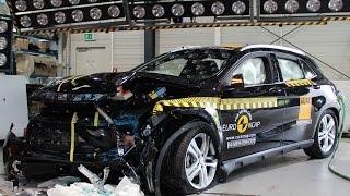 ► Mercedes GLA Crash Test