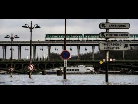 Hochwasser der Seine: Hunderte müssen Wohnungen in  ...