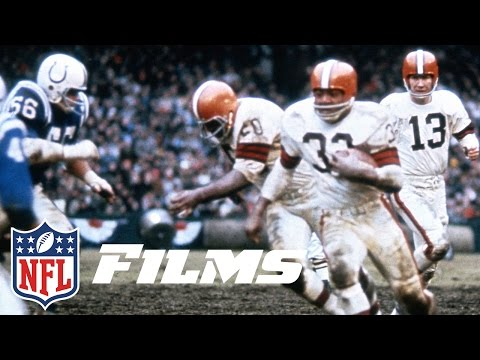 Video: Jim Brown Delivers a Championship to Cleveland | Jim Brown: A Football Life | NFL Films
