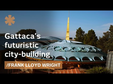 Lloyd Wright's futuristic city-building or NorCal spaceship?
