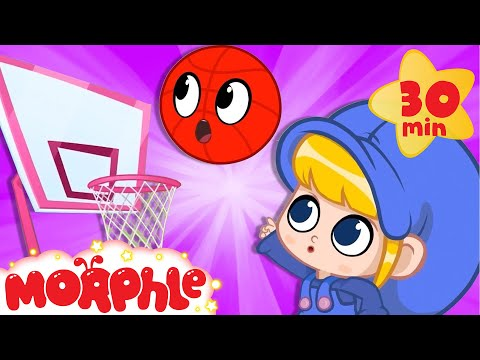 Magic Basketball - My Magic Pet Morphle | Cartoons For Kids | Morphle TV | Kids Videos