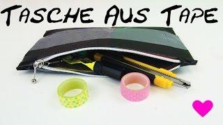 DIY Tasche Aus Panzertape Selber Machen Anleitung How To Make An Easy Case Bag