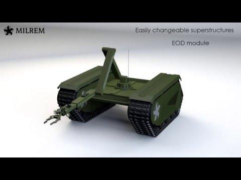 Естонці розробили бойового робота (відео)