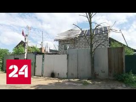 На подмосковном дачном участке выросли трущобы мигрантов - DomaVideo.Ru