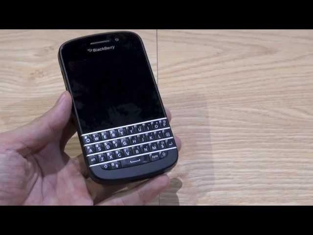 Trải nghiệm thử BlackBerry Q10 bản hoàn thiện