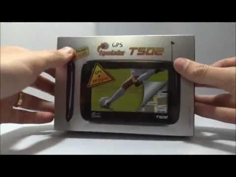 Apresentação - GPS APONTADOR T502 Lançamento Brasil - Video tutorial