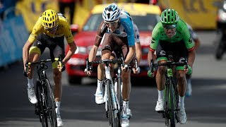 Chris Froome extended his lead at the top of the Tour de France GC standings on Wednesday after gaining time on rivals Fabio Aru and Romain Bardet. Froome now has a cushion of 27 seconds after stage 17 which took the peloton 183km through the Alps and over four categorised climbs. Slovenian Primoz Roglic won the stage while Marcel Kittel, winner of five stages at this year's Tour, was forced to abandon after crashing