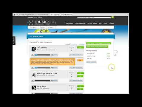 make easy cash just by listening to music