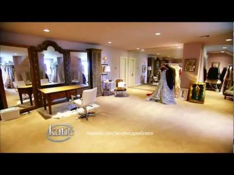 Jennifer Lopez's Dressing Room – Katie Couric Show 14/9/12 HD