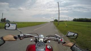 3. 2008 honda shadow 750 test drive review