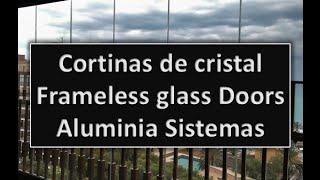 Cortinas de cristal / Frameless glass doors