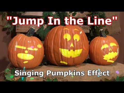Jump In The Line - Singing Pumpkins Effect Animation