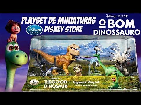 Filmes de animação completos dublados 2017 lançamento - O Bom Dinossauro - Disney Pixar - Playset de Miniaturas [Review]