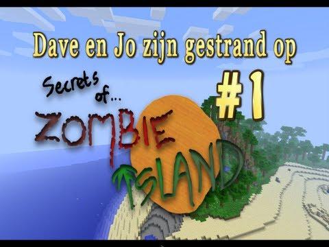 minecraft Secrets Of Zombie Island (Deel 1) NL