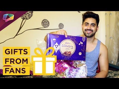 Zain Imam Receives Gifts From His Fans