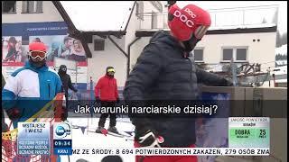 Adrian przyłapany na nartach w Wiśle!
