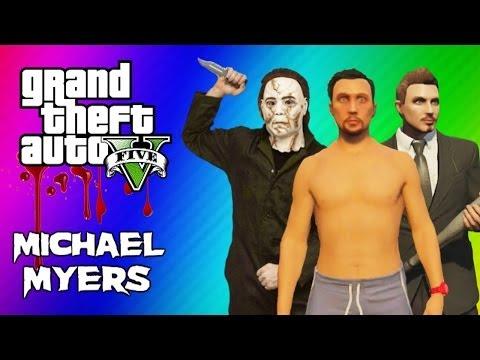 GTA 5 Online Maze Murderer – Michael Myers Mini Game FUN! (GTA 5 Funny Moments)
