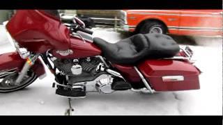 8. 2002 Harley Davidson FLHT Electra Glide Standard