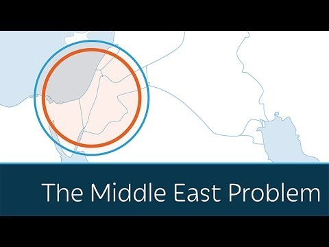 middle east - The Middle East conflict is framed as one of the most complex problems in the world. But, in reality, it's very simple. Israelis want to live in peace and are willing to accept a neighboring...
