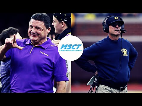 Ed Orgeron Did What Jim Harbaugh was Supposed to Do at Michigan | How Far is Mich From a Title?