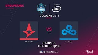 Astralis vs Cloud9 - ESL One Cologne 2018 - map1 - de_mirage [GodMint, SleepSomeWhile]