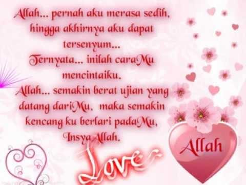 Puisi Islami: BerbahagialahEngkau Dicintai Allah