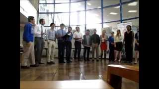 Docapella performs again at Music is Medicine