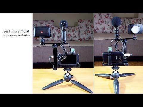 Kit pentru filmarea cu telefonul mobil