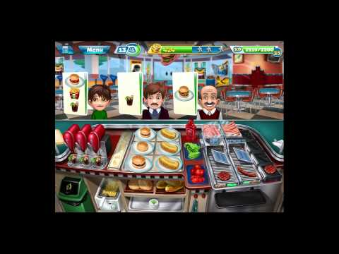Cooking Fever [iPad Gameplay] Level 40
