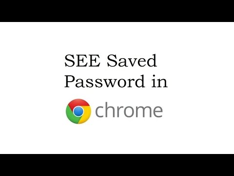 How to see saved password in Google Chrome