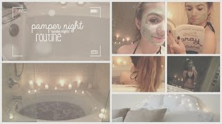 Pamper Night Routine ♡