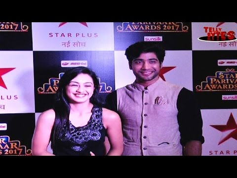 Sanam And Abigail at Star Parivar Awards Red Carpe