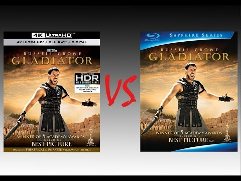 ▶ Comparison Of Gladiator 4K HDR10 Vs Gladiator 2009 Blu-Ray Edition