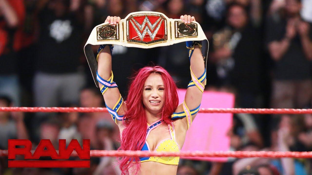 Sasha Banks vs. Charlotte – WWE Women's Championship Match: Raw, July 25, 2016