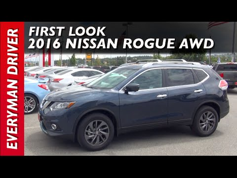 2016 Nissan Rogue AWD: First Look Overview on Everyman Driver