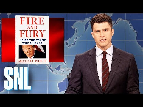 Weekend Update on Fire and Fury - SNL (видео)
