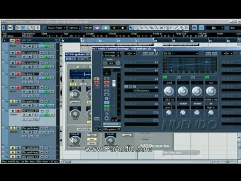 Modern Rock Drums, Bass and Guitar Mixing Techniques Part 2 of 2