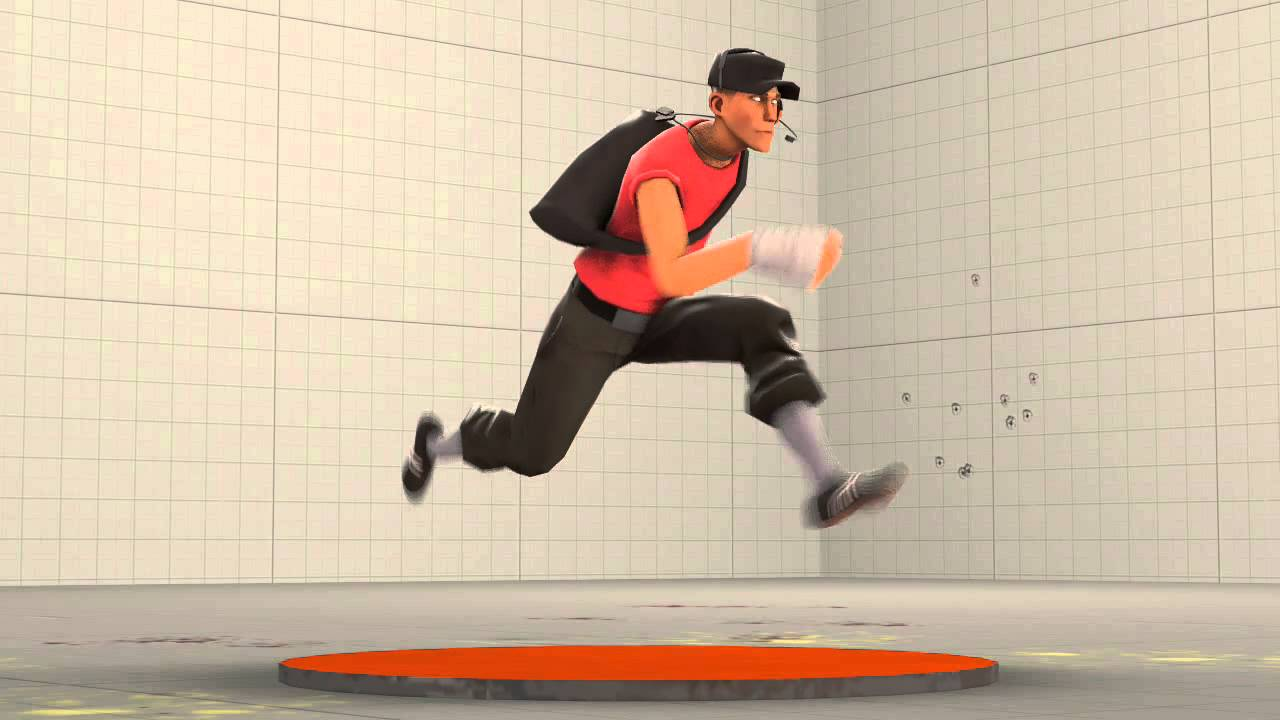 3d Fast Run Animation Cycle by Hypo