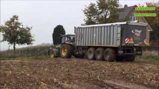 Video Mais Hakselen 2013 : Loonbedrijf Houten met John Deere 8310,7810 en 7450i in Mheer MP3, 3GP, MP4, WEBM, AVI, FLV November 2017