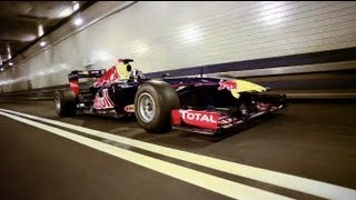 Red Bull F1 Car Tears Up New York