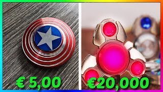 Video HAND SPINNER 5€ VS HAND SPINNER 20,000€ MP3, 3GP, MP4, WEBM, AVI, FLV Juni 2017