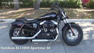 4. Used 2012 Harley Davidson Sportster Forty-Eight Mustang Seat